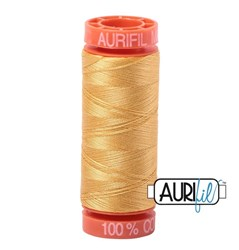 Mako 50 - 220 yards - Aurifil #2134 Spun Gold