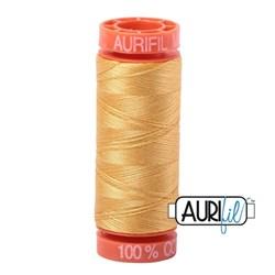Mako 50 - 220 yards - Aurifil #2134 Spun Gold