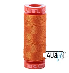 Mako 50 - 220 yards - Aurifil #2150 Pumpkin
