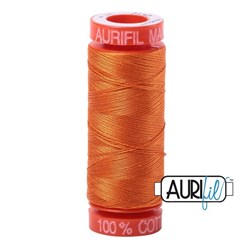 Mako 50 - 220 yards - Aurifil #2150 Pumpkin