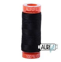 Mako 50 - 220 yards - Aurifil #2692  Black
