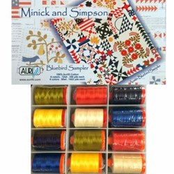 Austin Blue Bird Aurifil Pack