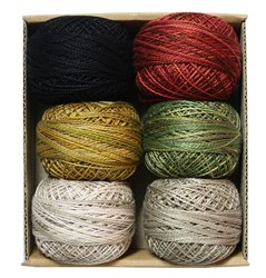 Pearl Cotton Ball Sz 08 109yd 6 Colors Berties Year Collection