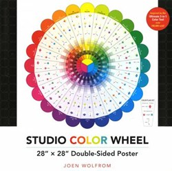 Studio Color Wheel Poster