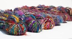 Carded Recycled Silk Sari Yarn 80yd 100g