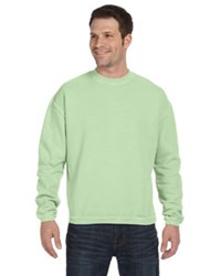 Banded Hem  Sweatshirt - Medium Celery