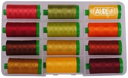 Aurifil Fall Thread Pack