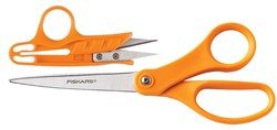 Fiskar's Cutting Set - Scissors & Snips in One!