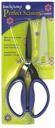Perfect Scissors Karen Kay Buckley 7 1/2 inch Large Purple