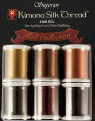 Kimono Silk Thread Fall Collection - 6 Pack