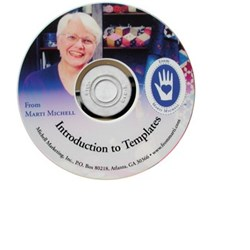 Vintage Find!  Marti Michell Introduction to Templates DVD
