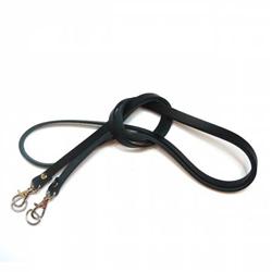 Leather Strap 5/16in x 51 3/16in (130cm)Black  # MS101-7