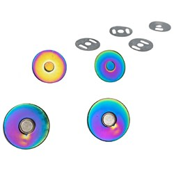 Iridescent Magnetic Snaps
