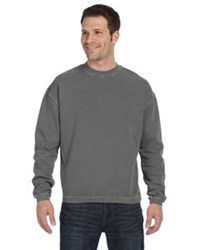 <i>Last One! </i><br> Banded Hem  Sweatshirt - Medium Smoke