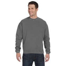 Last One!  Banded Hem  Sweatshirt - Medium Smoke