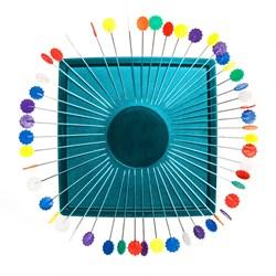 Zirkel Magnet - Turquoise!