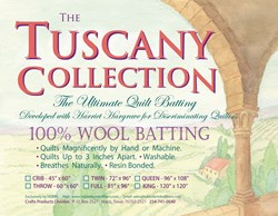 Hobbs Tuscany 100% Wool Batting - Queen Size