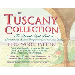 Hobbs Tuscany 100% Wool Batting - Queen Size