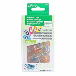 Rainbow  Wonder Clips - 50 Pack