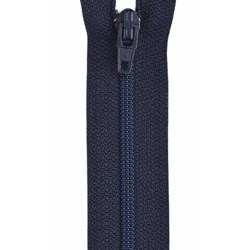 All-Purpose Polyester Coil Zipper 14in Navy