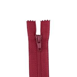 All-Purpose Polyester Coil Zipper 7in Raspbery