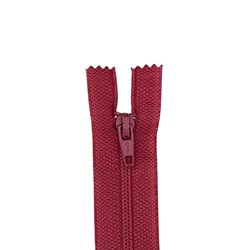 All-Purpose Polyester Coil Zipper 7in Raspbery