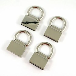 Edge Connector Strap Anchors in Nickel (4 Pack)
