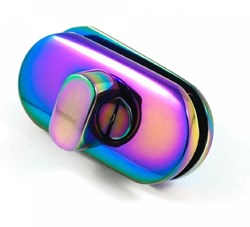 Small Turn Lock -Iridescent (1 per pack)
