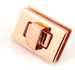Rectangle Turn Lock - Copper  (1 per pack)