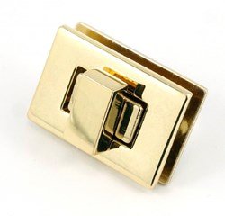Rectangle Turn Lock -Gold (1 per pack)