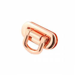 Oval Flip Lock - Copper (1 per pack)