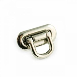 Oval Flip Lock -Nickel  (1 per pack)