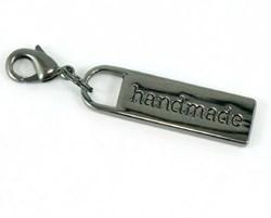 "Zipper Pull ""handmade"" in Gunmetal"