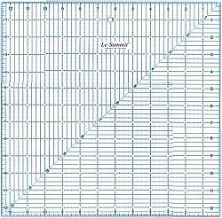 12.5 x 12.5 Inch Square Quilting Ruler