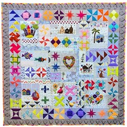 Hidden Treasures Quilt Pattern by Wendy Williams