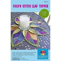 Fold'n Stictch Leaf Topper Pattern