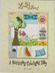 A Summer Coloured Day Pattern by LizzieB Crea8ive