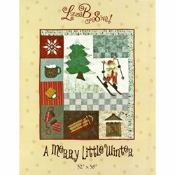 A Merry Little Winter Pattern by LizzieB Crea8ive