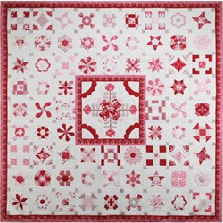 Last One! Raspberry Tea Complete Pattern Set & Templates by Sue Daley