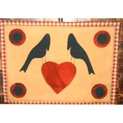 Vintage Find!  Simply Prim Love Wool Pattern