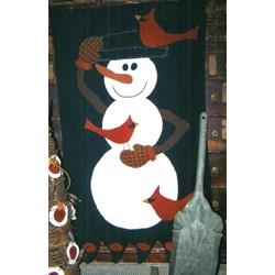 Snow Perch Rug Wool Pattern