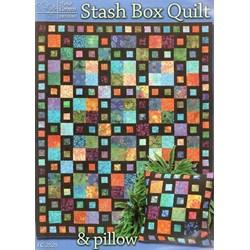 Stash Box Quilt & Pillow Pattern