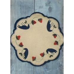 Summer Crows Topper Wool Pattern