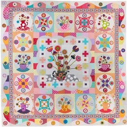 Tea Party Quilt Pattern by Wendy Williams