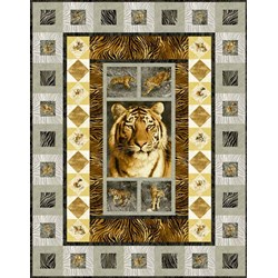Free Pattern-Tiger Kingdom Fabric Collection