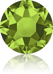 Swarovski 2078 XIRIUS Rose Hotfix <br>OLIVINE  SS16 #228