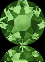 Swarovski 2078 XIRIUS Rose Hotfix <br> FERN GREEN  SS16 #291