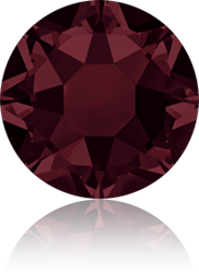 Swarovski 2078 XIRIUS Rose Hotfix <br>BURGUNDY SS16 #515