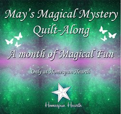 May Magical Mystery Quilt Along for May Customer Appreciation Month!  Pattern Download Option