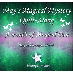 May Magical Mystery Quilt Along for May Customer Appreciation Month!